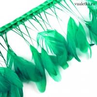 Перья петуха на ножках / Св. зеленые