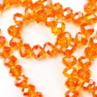 Бусины 4 мм/ Оранж