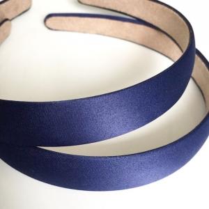 Ободок сатин-2 см. Цвет: Синий