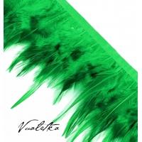 Перья петуха/ Зеленый
