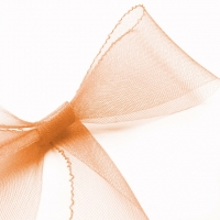 Кринолин 8 см. Цвет: Персиковый