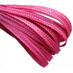 Тесьма плетеная. Цвет: Фуксия
