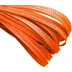 Тесьма плетеная. Цвет: Оранж
