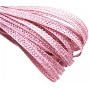 Тесьма плетеная. Цвет: Розовый