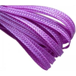 Тесьма плетеная. Цвет: Сирень