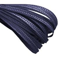 Тесьма плетеная. Цвет: Темно-синий