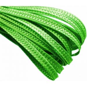 Тесьма плетеная. Цвет: Зеленый