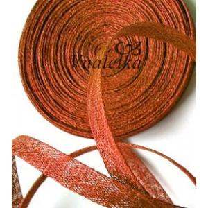 Синамей - косая бейка. Цвет: Оранж (темный)