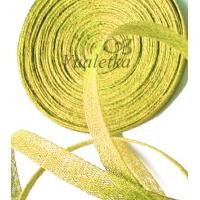 Синамей- косая бейка. Цвет: Желтый