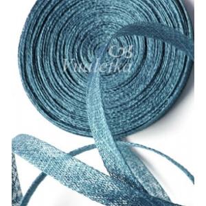 Синамей - косая бейка. Цвет: Серо-голубой