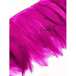 Перья на ленте. Цвет: Пурпурный