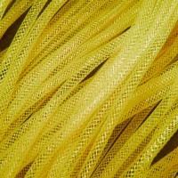 Кринолин трубчатый 4 мм. Цвет: Желтый