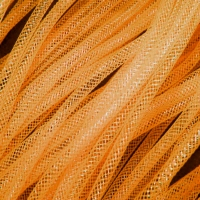 Кринолин трубчатый 4 мм. Цвет: Оранж