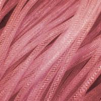 Кринолин трубчатый - 4 мм. Цвет: Розовый