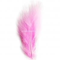Перья марабу/ Розовый